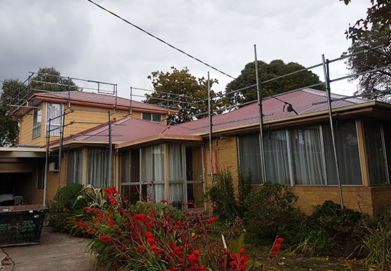 Iron roofing in Melbourne by WorldClass Roofing
